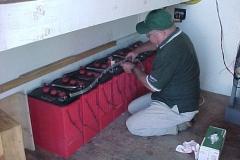 Rick-VE7REH-installing-new-batteries