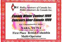 RAC-Canada-Winter-Contest-1999