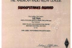 Sweepstakes-1996