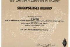 Sweepstakes-1998